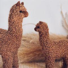 Alpaca decoration camel large Petit Kolibri