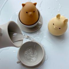 Silicone bath toys cup set topanga beach Konges Slojd