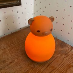 Lampe LED en silicone ours teddy Konges Slojd