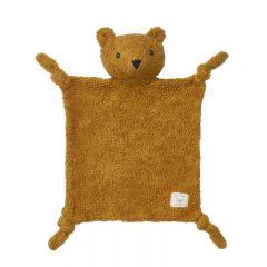Lotte cuddle cloth mr bear golden caramel Liewood