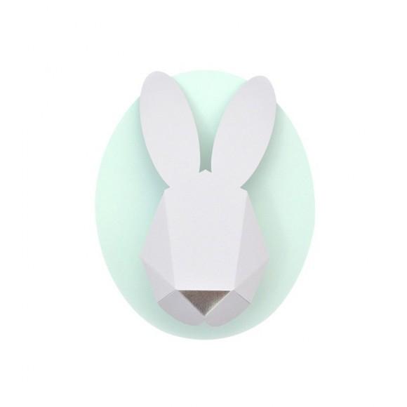 CHLOE FLEURY  Paper bunny kit mint