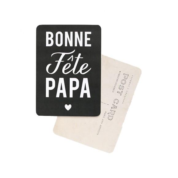 Cinq Mai Carte postale Bonne Fête Papa