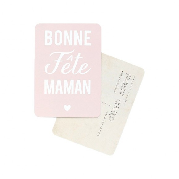 Cinq Mai Carte postale Bonne Fête Maman