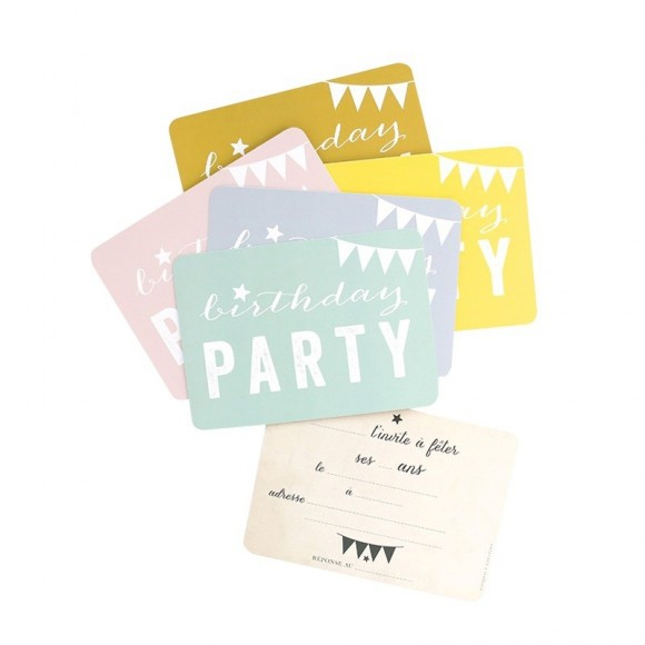 Cinq Mai 5 Cartes Birthday Party
