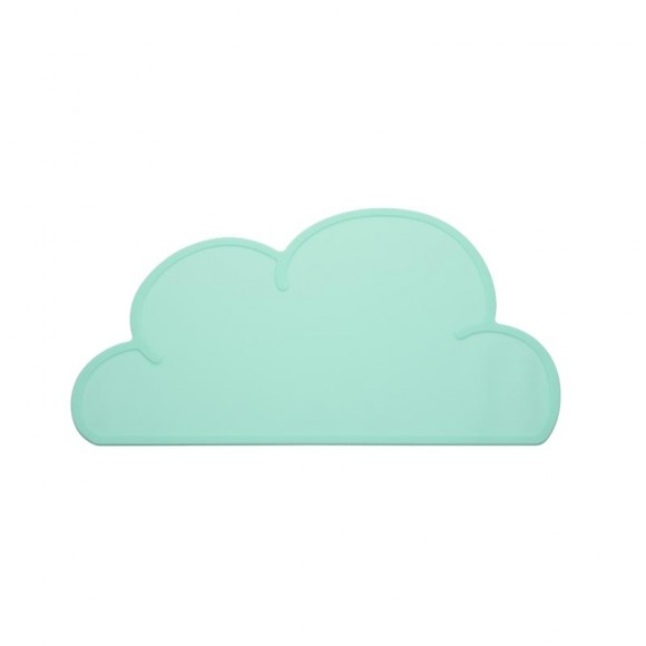 Set de table nuage vert