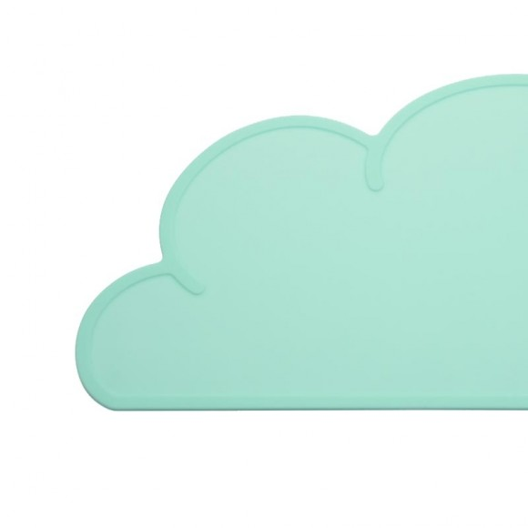 Cloud table set green