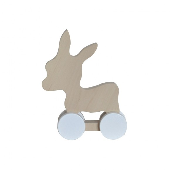 Jouet en bois âne