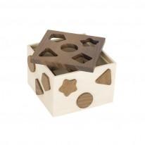 Goki Boîte à formes en bois Goki