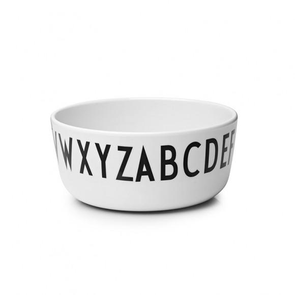 Melamine bowl Design Letters