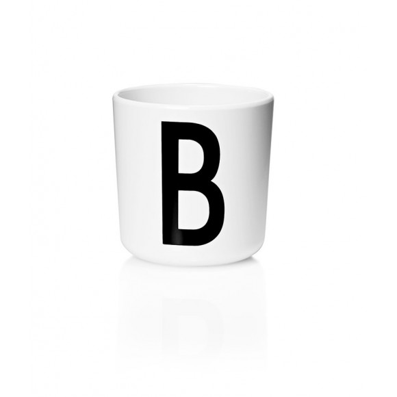 Personal melamine cup A-Z Design Letters