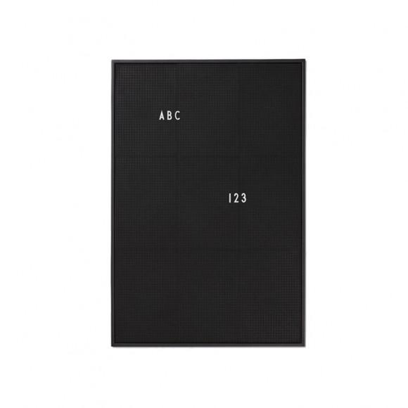 Letter Board Noir A2