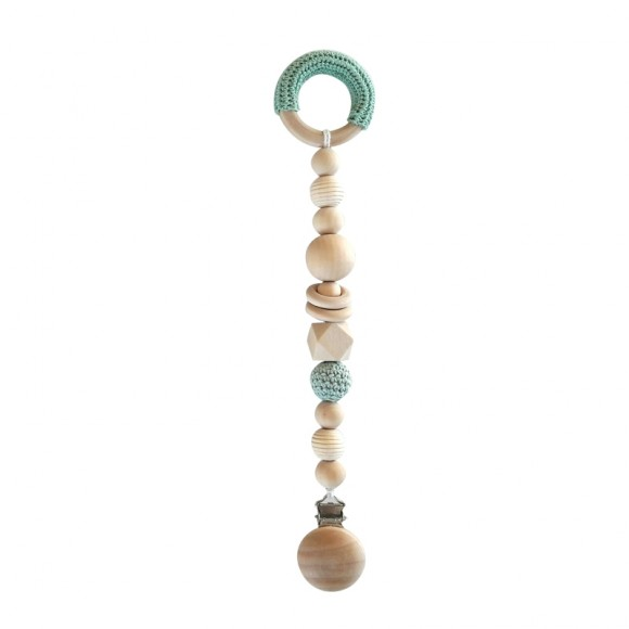 Baby nappies chain green  La Petite Particule