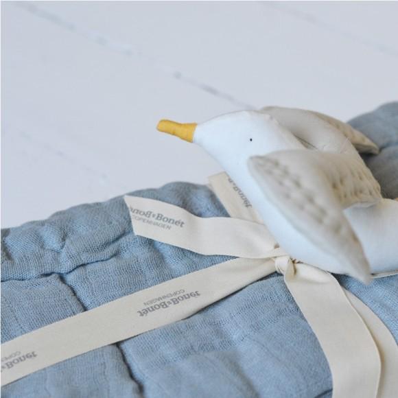 Mobile oiseau taupe Bonet et Bonet