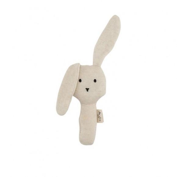 Activity hand rabbit off white melange