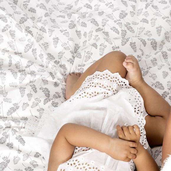 Beaumont Baby Bedding White Bonet et Bonet