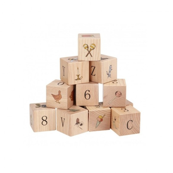 Wooden blocks Konges Slojd