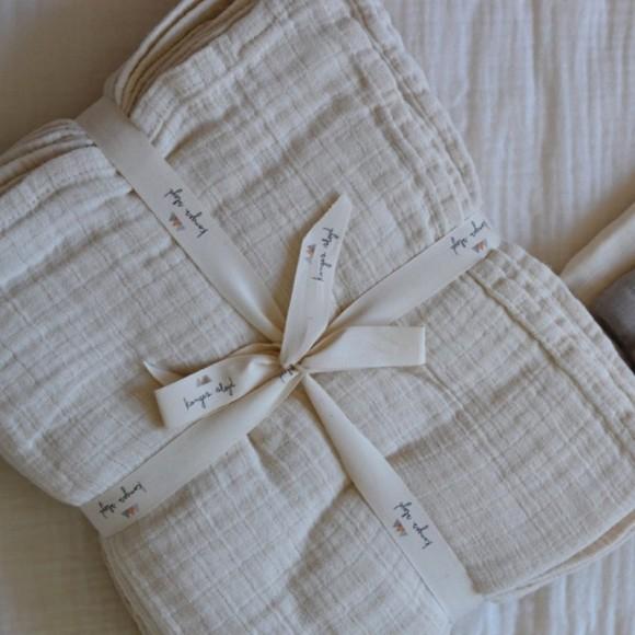 10 pack of muslin cloths nature Konges Slojd