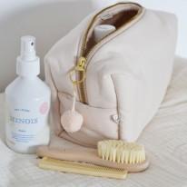 Toiletry bag shell pink Konges Slojd