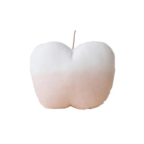 Coussin pomme pêche