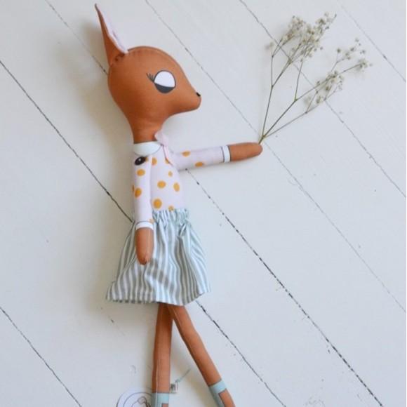Deer Lady Pink