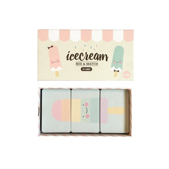Jeu Mix and Match Ice Cream