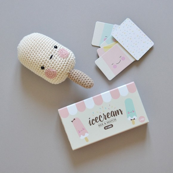 Jeu Mix and Match Ice Cream Eef Lillemor
