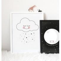 Affiche Lune Noire