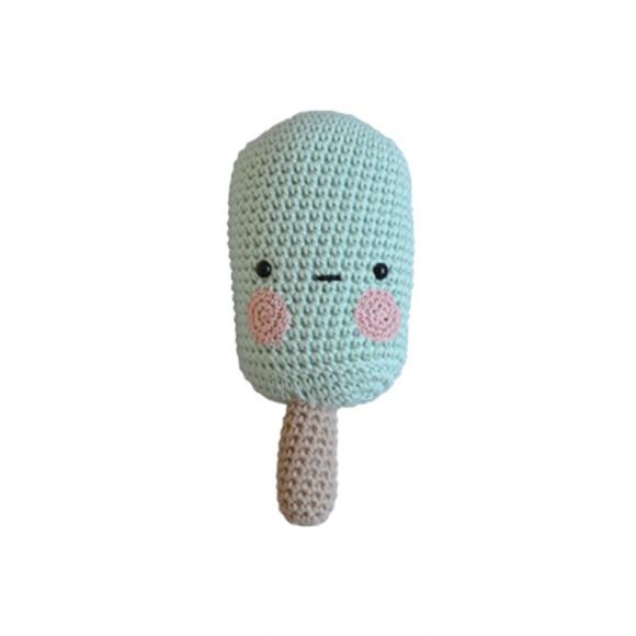 Glace en crochet Menthe Laetitita Dalbies