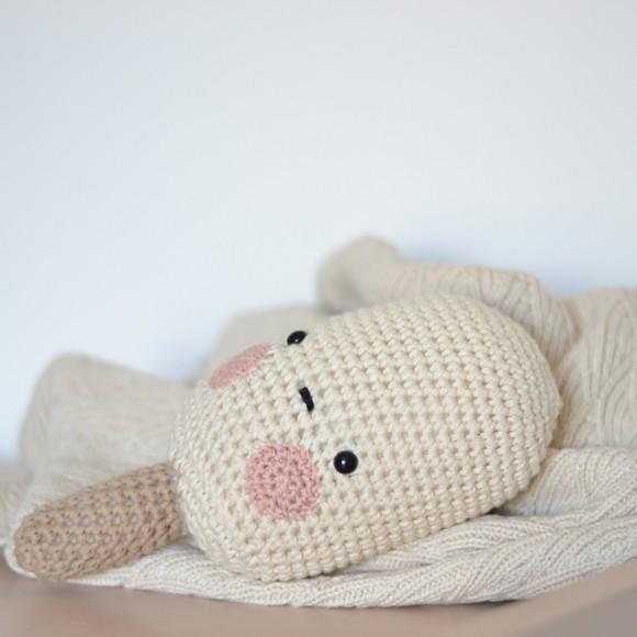 Glace en crochet Vanille Laetitia Dalbies
