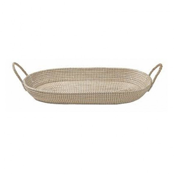 Wicker Changing Basket Reva Handmade in England, measurements can vary significantly.  Inside dimensions: 70 x 30 cm  Material: