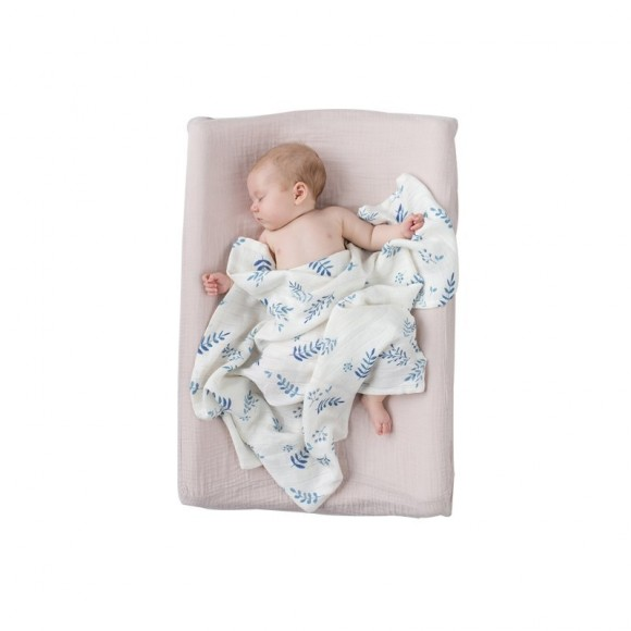 Meadow Bamboo Swaddle Blanket Bim Bla