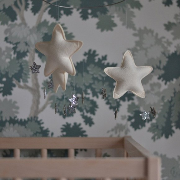 Mobile étoiles nature Bonet et Bonet