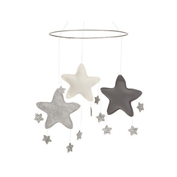 Mobile Star Grey Bonet et Bonet