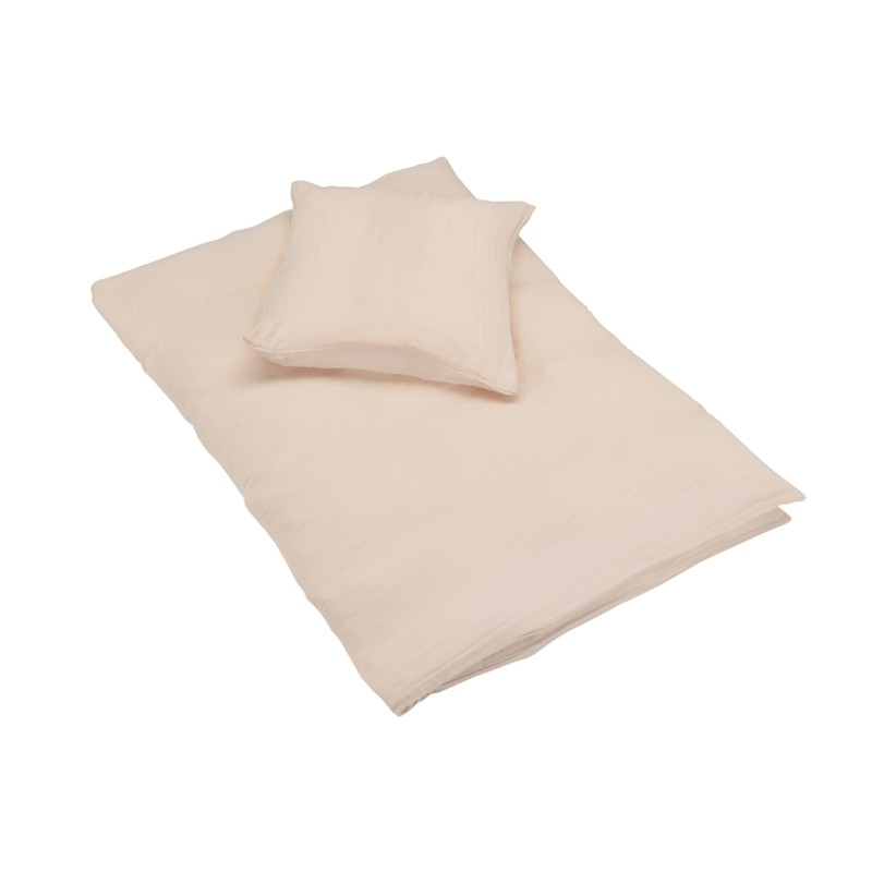 parure de lit peach rose junior bonet et bonet yellow flamingo. Black Bedroom Furniture Sets. Home Design Ideas