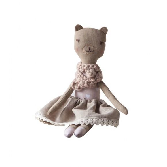 Doll Bear Sara Mari Dolls Yellow Flamingo