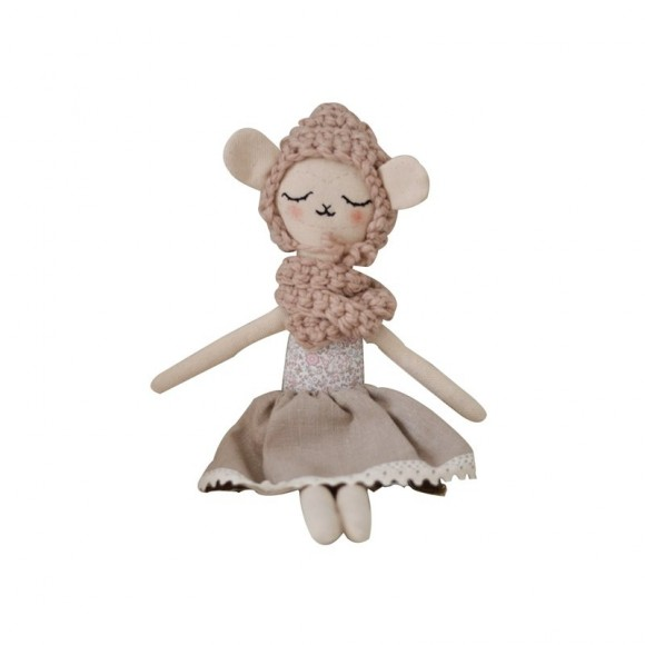 Doll Sheep Sara Mari Dolls Yellow Flamingo