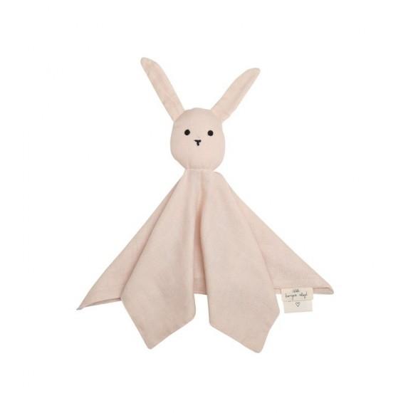 Sleepy rabbit cuddle cloth light rose