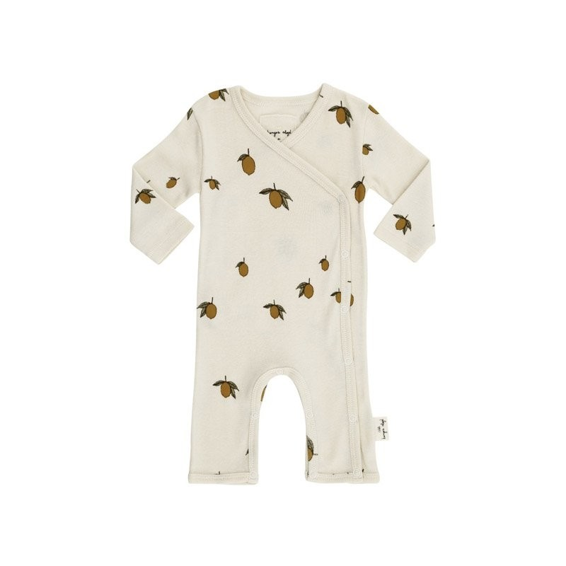 583bb3f4c0b Onesie lemon Konges Slojd - Yellow Flamingo