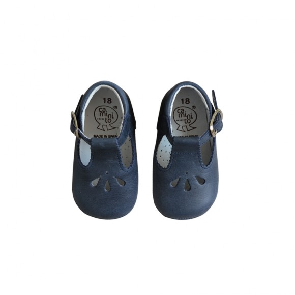 Soft Mary Janes Navy Blue