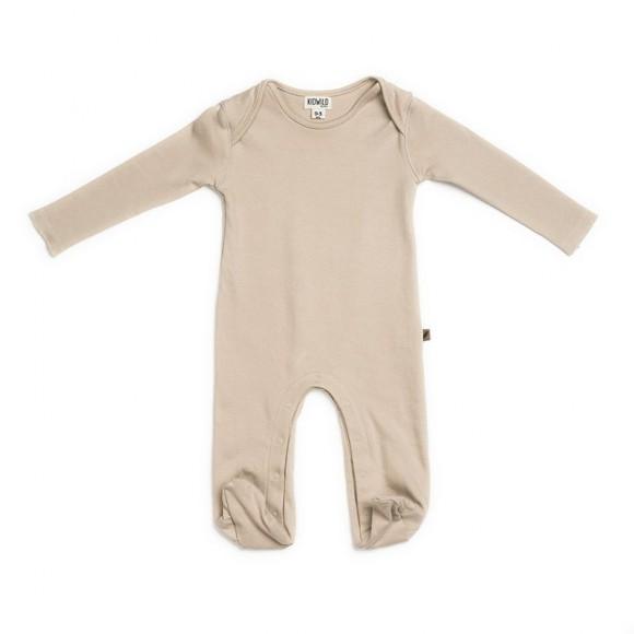 Pyjama Nude en coton GOTS Kidwild Yellow Flamingo
