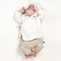 Cotton GOTS Baby Pilot Cap Stars Kid Wild Yellow Flamingo