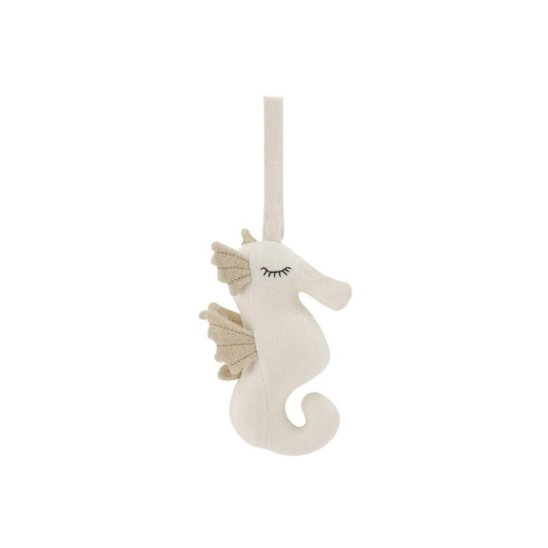 Mobile musical hippocampe beige Bonet et Bonet