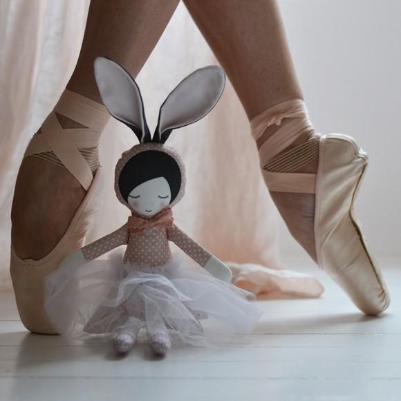 Ballerina bunny pink Pani Pieska
