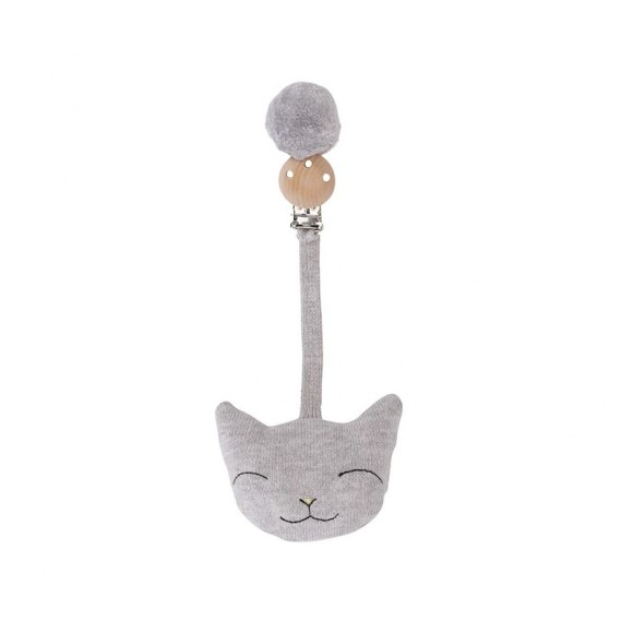 Clip cat grey melange Konges Slojd