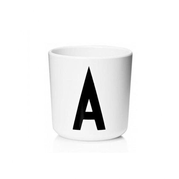 Tasse alphabet en melamine