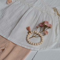 Bracelet Mishone rose poudré Mishone