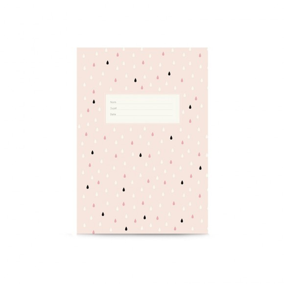 Notebook gouttes