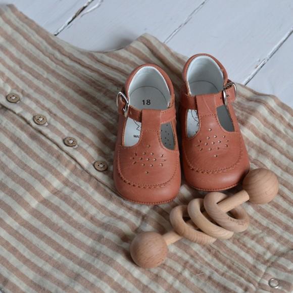 Babies souples brique Caminito