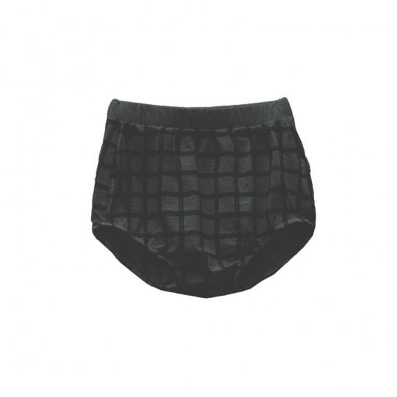 Bloomer Chou Check black sand Le Petit Germain
