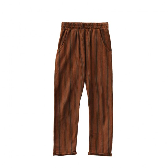 Striped chino pants arizona Le Petit Germain